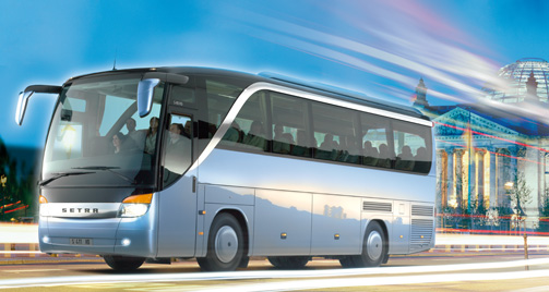 bus charter service europe